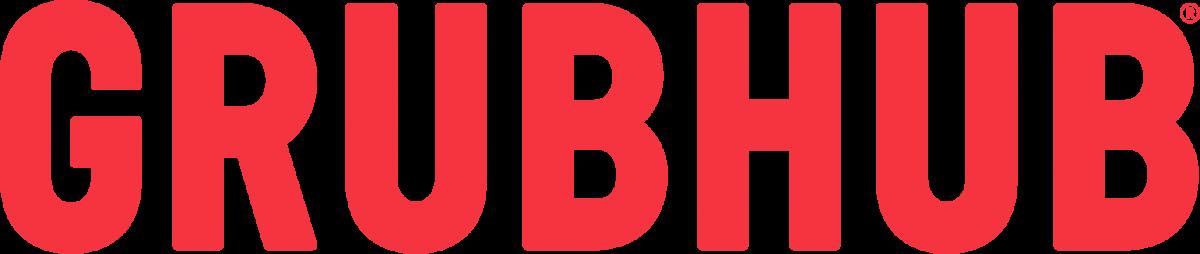 red Grubhub logo