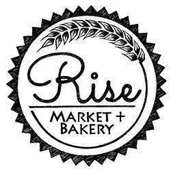 Rise Market + Bakery logo