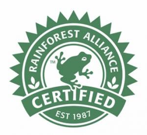 Rainforest Alliance certification logo