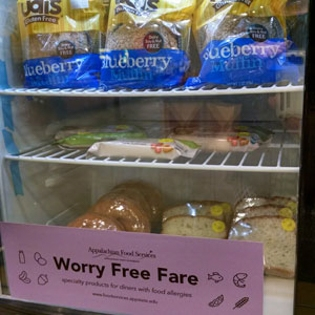 Worry-free cooler with allergen free foods
